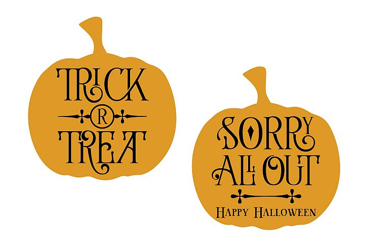Trick or Treat - All Out - Halloween example 4