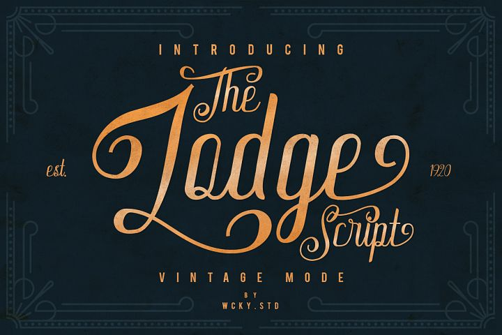 The Lodge Script 30% OFF