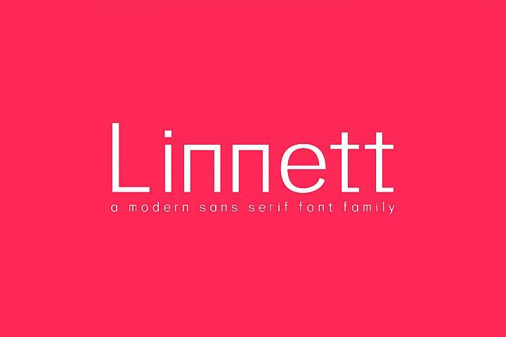 Linnett Sans Serif Font Family