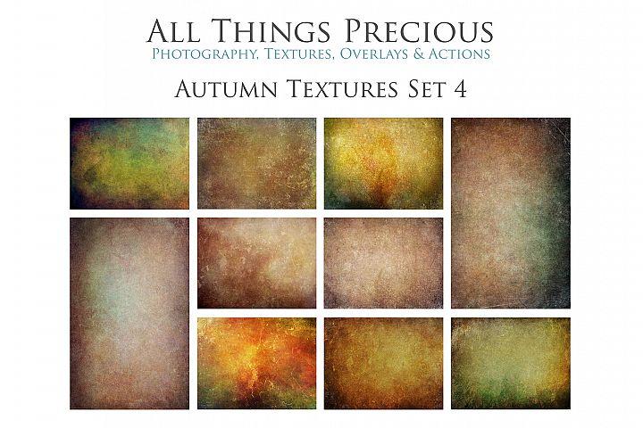10 Fine Art AUTUMN Textures SET 4