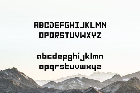 Fontolo Typeface example image 2
