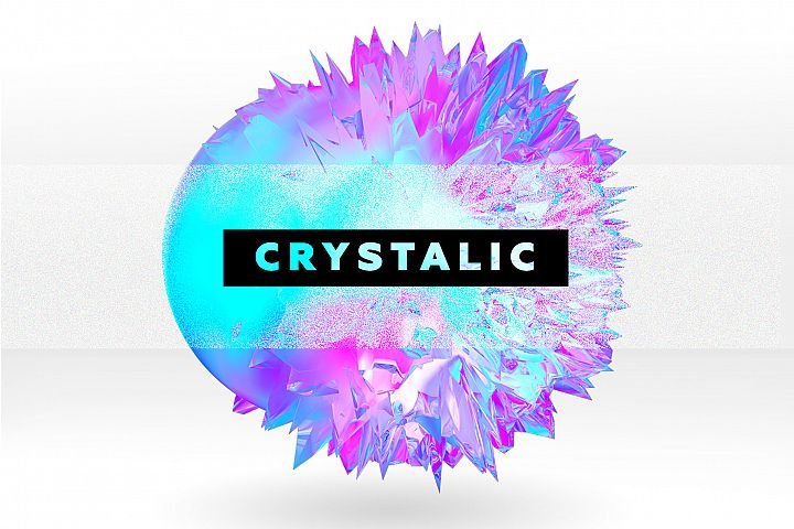 Crystalic - abstract shapes