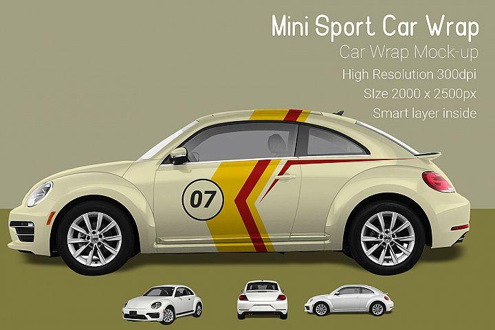 Mini Sport Car Wrap