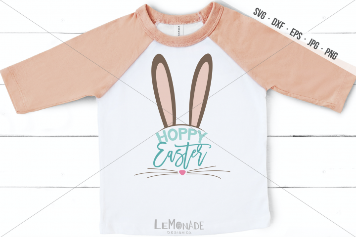 Hoppy Easter SVG, Easter T-Shirt DEsign