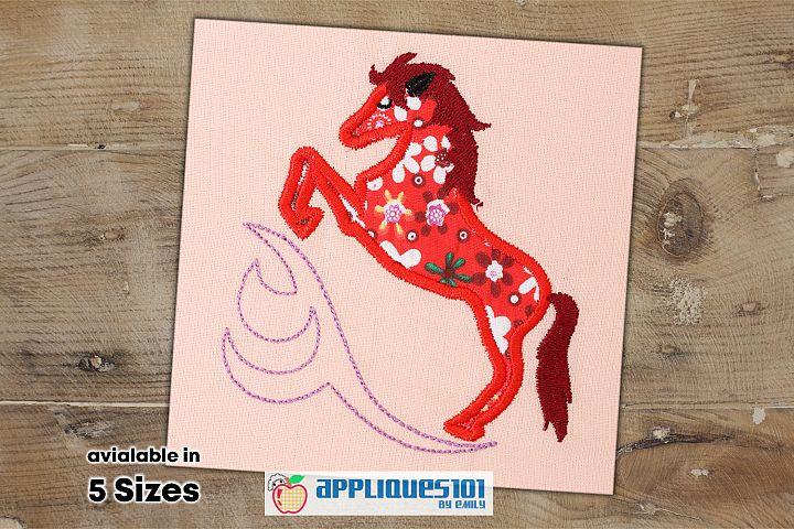 Horse Machine Embroidery Applique Design - Horses