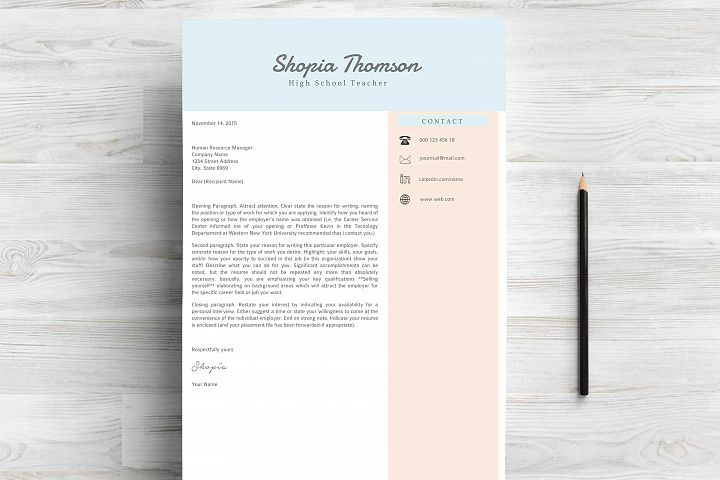 Professional Resume Template Word - Free Design of The Week Design3