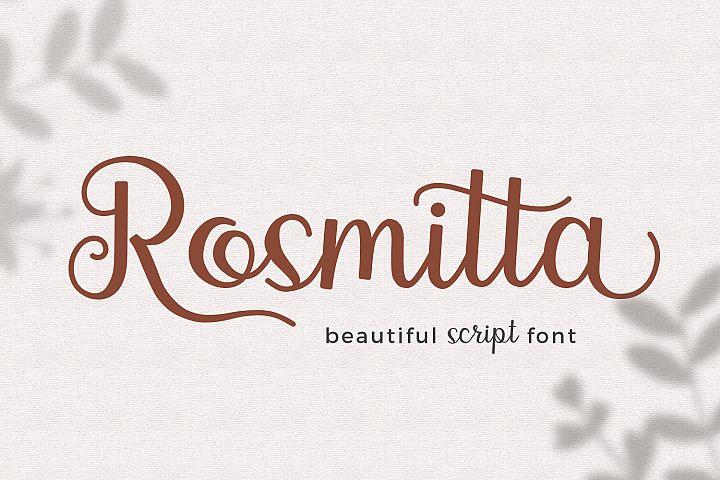 Rosmitta Script