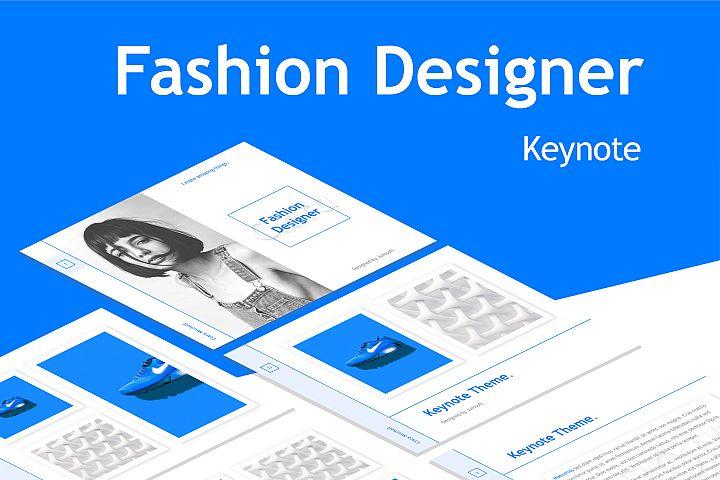 Fashion Designer Keynote