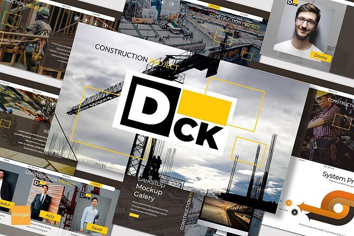 Dck - Google Slides Template