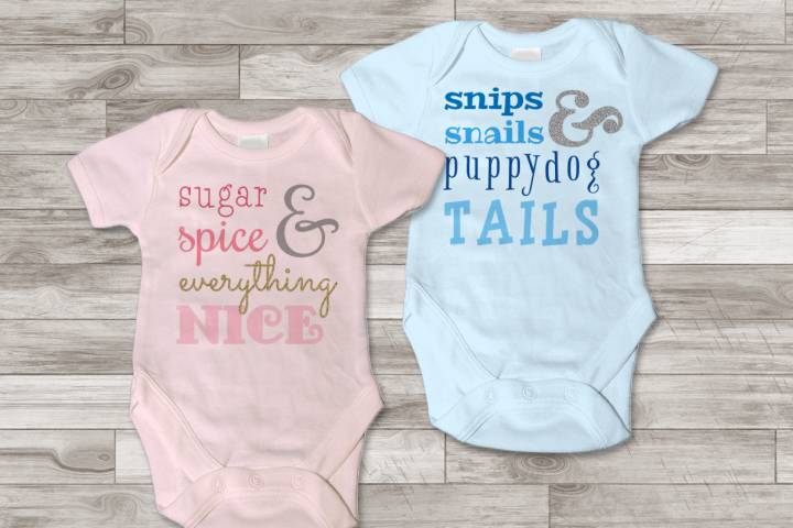 What Babies are Made of Subway Art SVG File Cutting Template