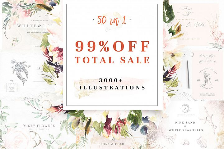 99 OFF TOTAL SALE