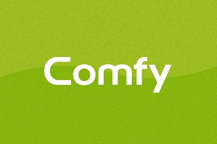Comfy - Logo Design Font