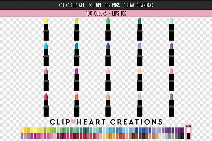 Lipstick Clip Art - 100 Clip Art Graphics