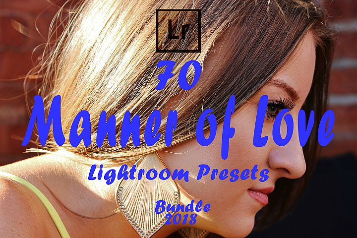 Manner of Love Lightroom Presets