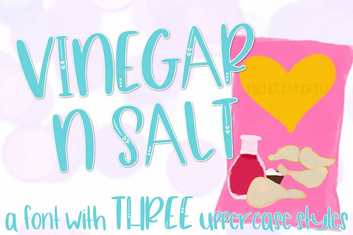 Vinegar N Salt - A Font Trio Of Sorts
