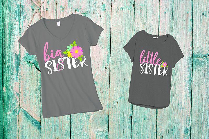 Sister SVG, sisters svg, sister shirts, little Sister 367sv