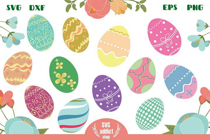 12 Easter Eggs Cut Files Vol 02