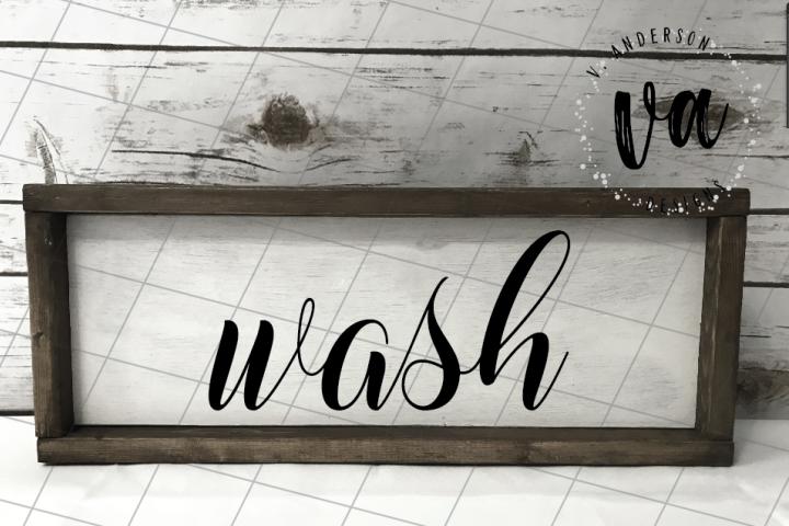 Bathroom Phrases SVG