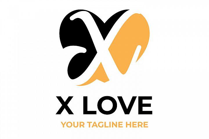 X letter logo design.