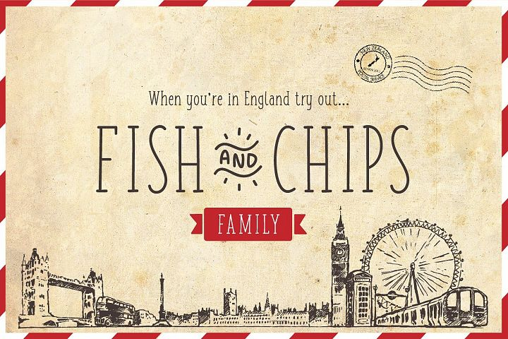 Fish and Chips - Full Family