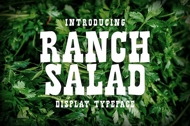 Ranch Salad example