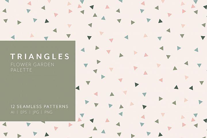 Triangle Patterns - Flower Garden