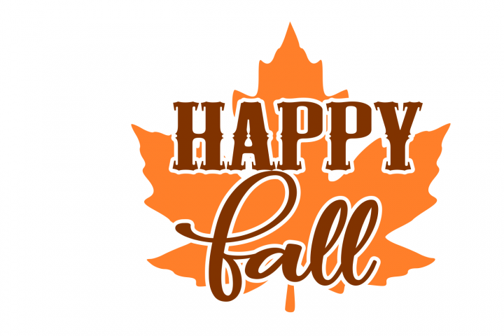 Happy Fall SVG File