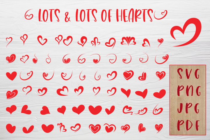 LOTS & LOTS OF HEARTS