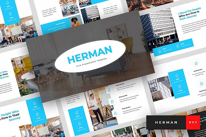Herman - Firm PowerPoint Template