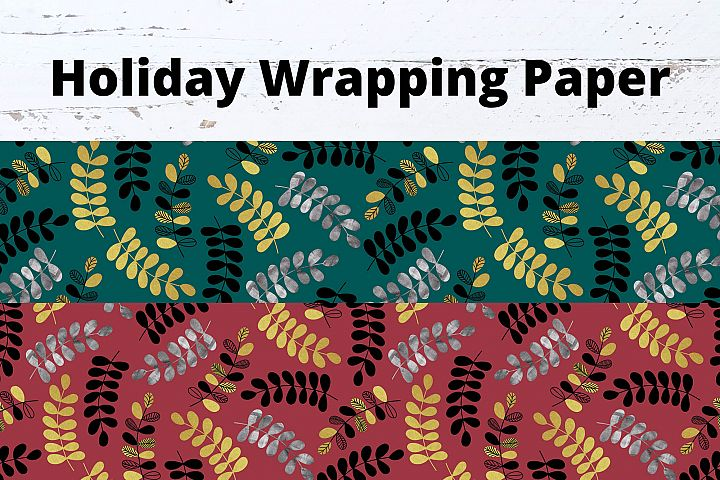 Christmas & Holiday Gift Wrap Seamless Repeat DIGITAL