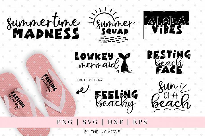 Summer Quotes SVG Bundle 2