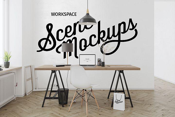Workspace mockups