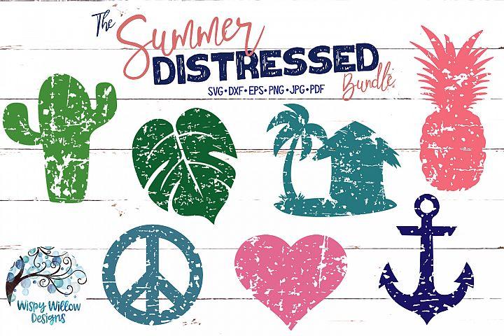 The Summer Distressed Bundle | Summer SVG Cut Files