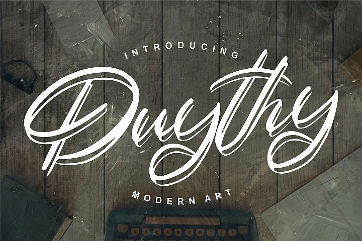 Duythy | Modern Art Font