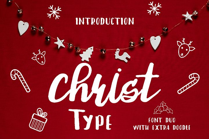 Christ Type Font Duo