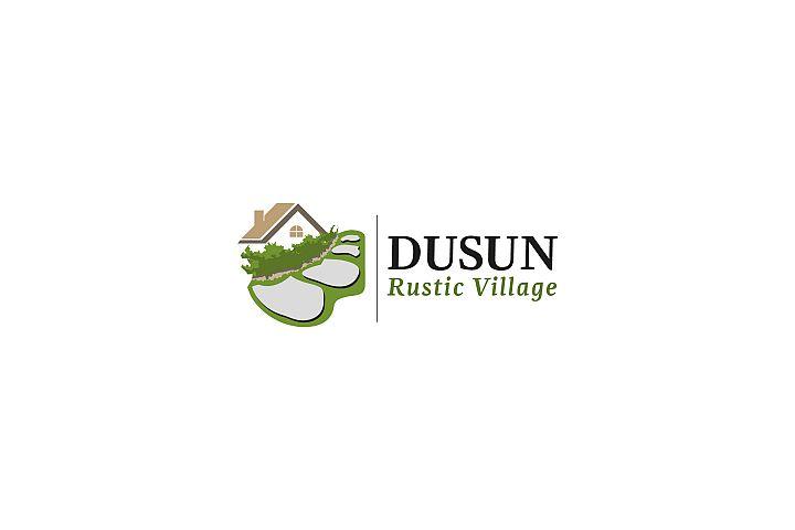 Dusun Rustic Village - Logo Template