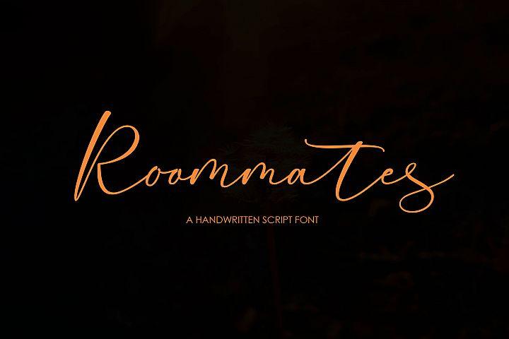 Roommates Script | Reguler & Slant