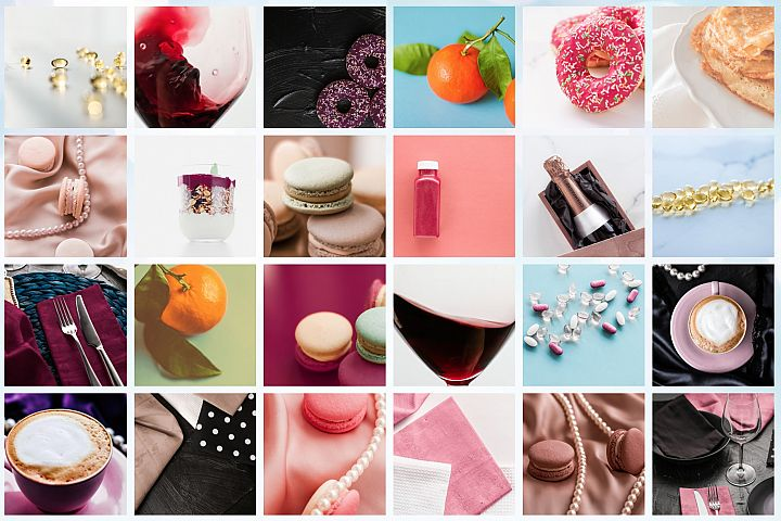 50 Images | Food & Drinks Stock Photo Bundle #1
