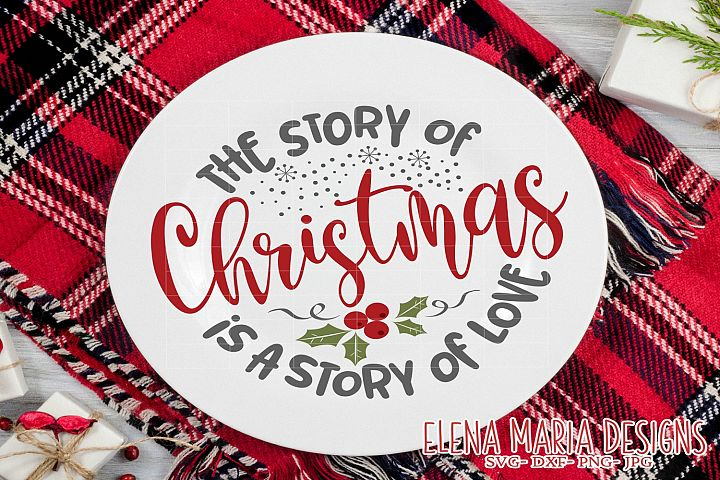 Christmas SVG Design, Story of Christmas SVG, Holiday Svg