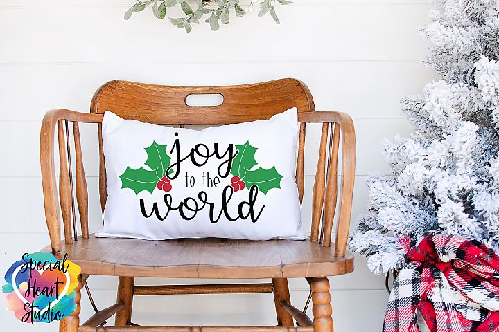 Joy to the World - A Christmas SVG Cut File