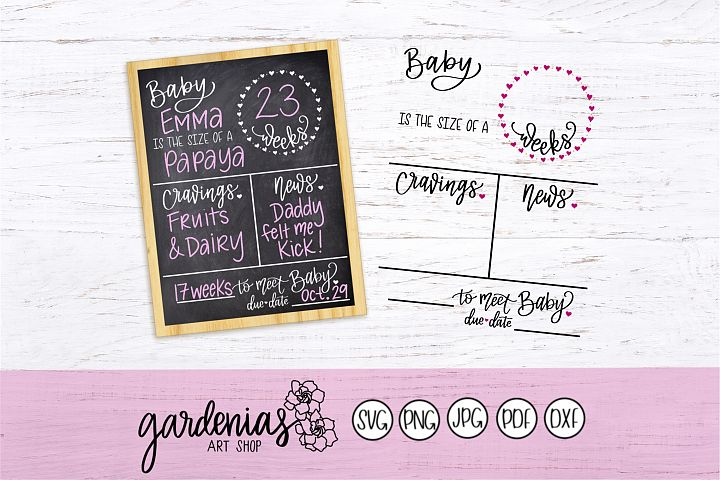 Baby Pregnancy Board Template