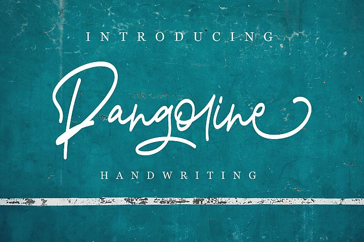 Pangoline | Handwriting Script
