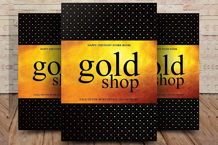 Gold Shop Flyer