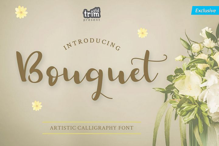 Bouquet - Artistic Calligraphy Font