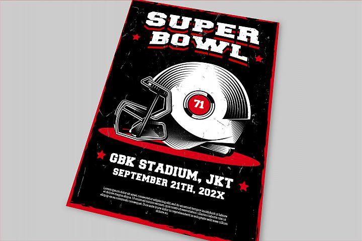 Superbowl Flyer