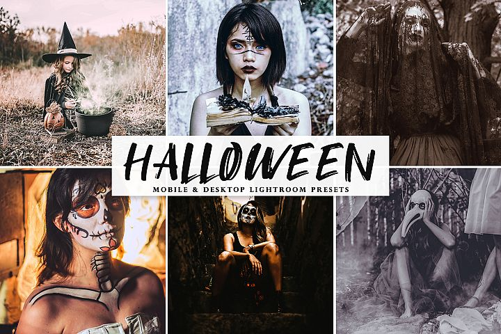 Halloween 2019 Mobile & Desktop Lightroom Presets