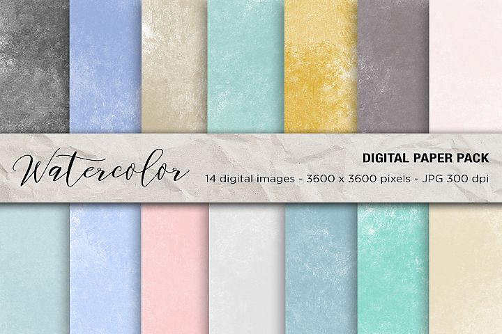 Wedding, Wedding Invitation Papers, Watercolor Background