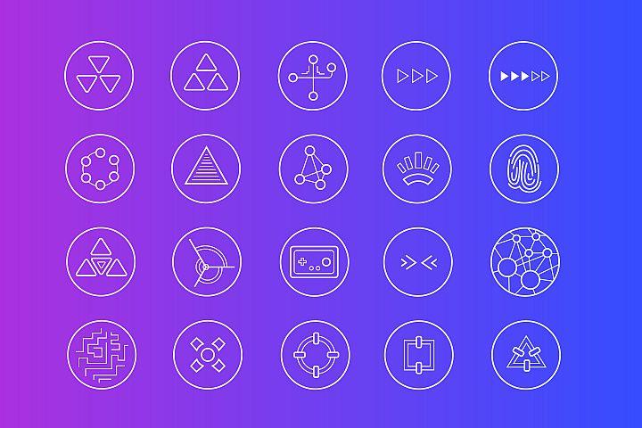Futuristic Icons