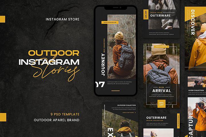 Outdoor Instagram Stories Template