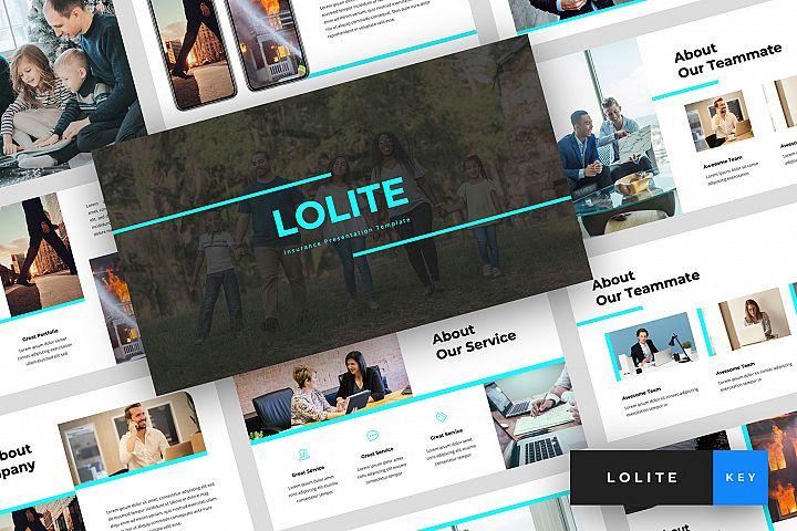 Lolite - Insurance Keynote Template